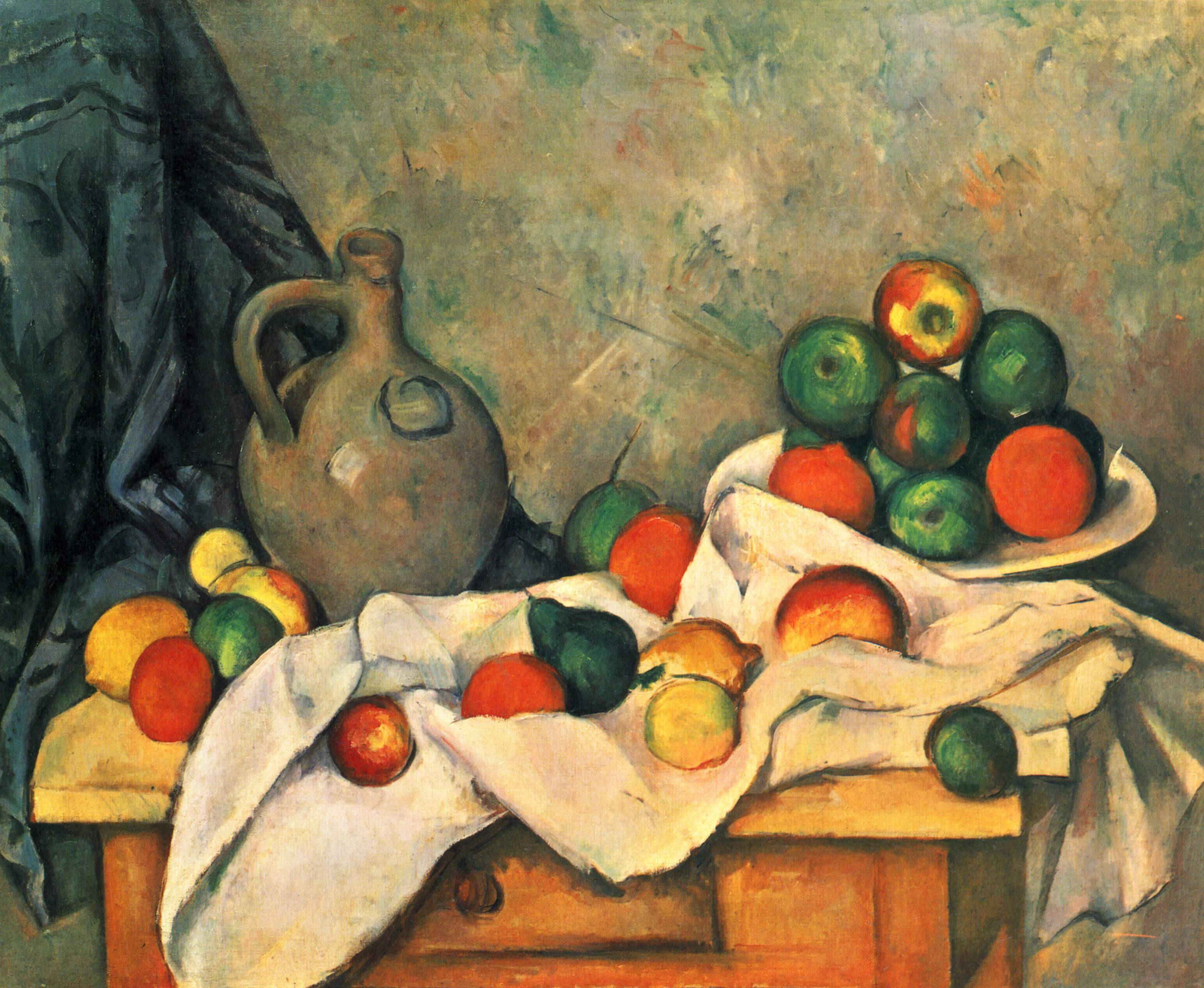 Image via Wikipedia; artwork by Cezanne.