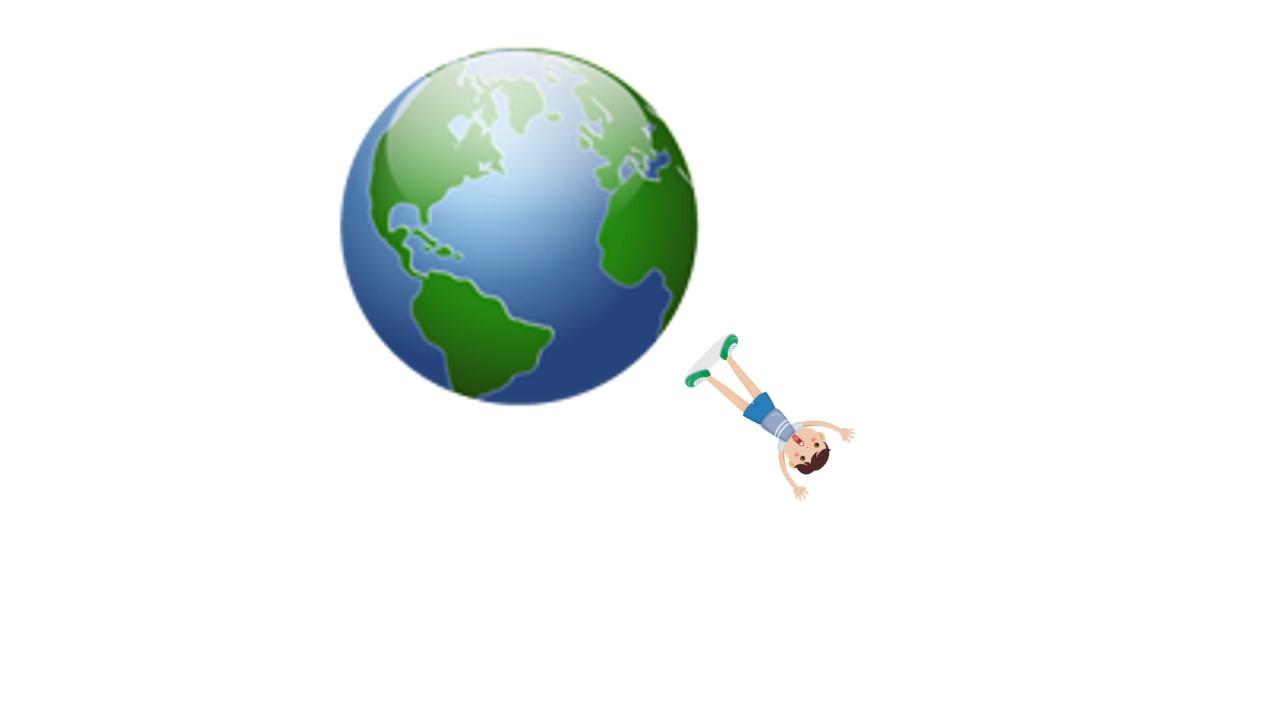 Falling off Earth