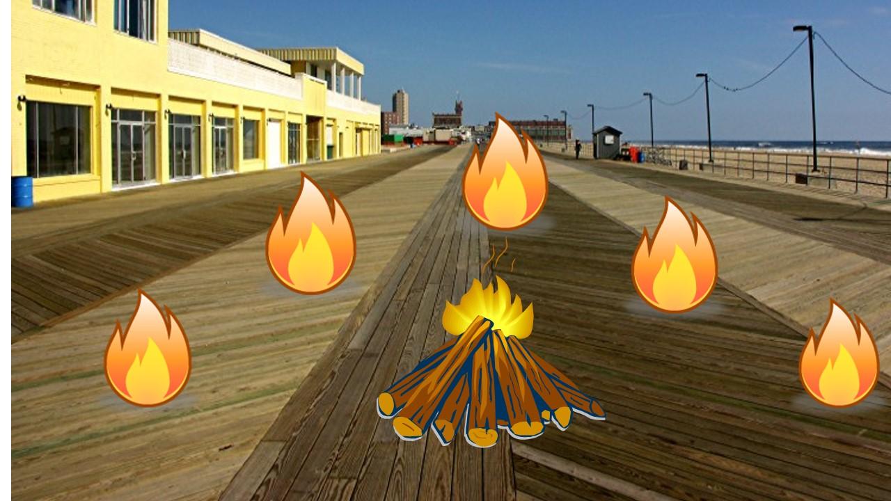 boardwalk fires