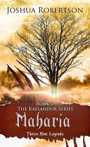 Maharia ebook cover