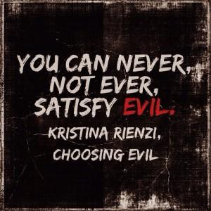 Choosing Evil quote