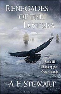 Renegades of the Lost Sea by A. F. Stewart Pirate Fantasy